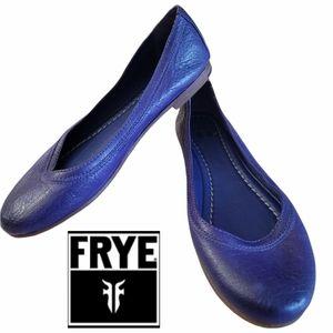 Frye Carson Purple Ballet Flats